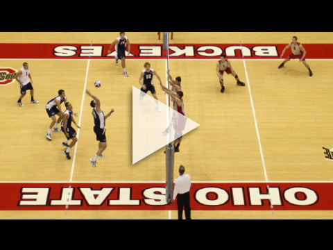 Ohio State men's volleyball team