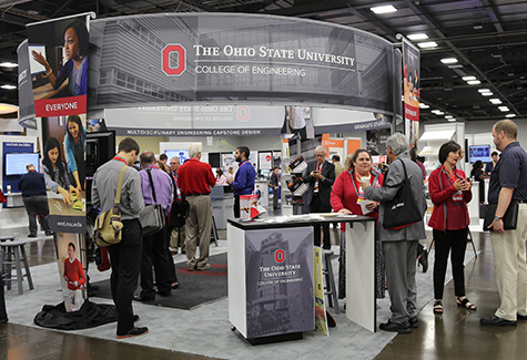 Engineering Education conference booth