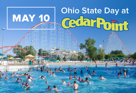 May 10: Ohio State Day at Cedar Point