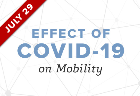 Upcoming Event on July 29: Effect of COVID-19 on Mobility