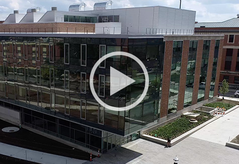 Drone view of BMEC
