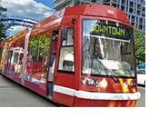 Columbus streetcar rendering